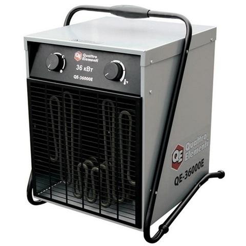 Нагреватель воздуха электрический QUATTRO ELEMENTI QE-36000 E (18 / 36кВт, 380В-3ф, 2400 м (649-325)
