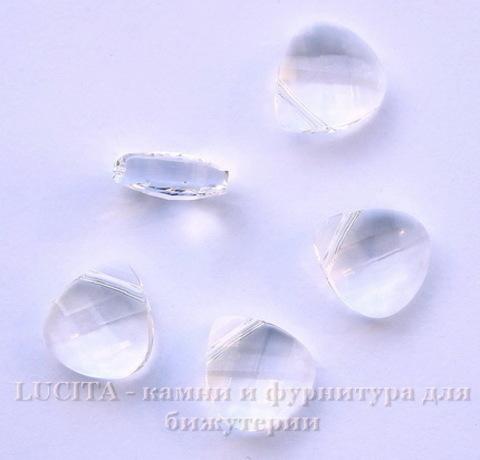 6012 Подвеска Сваровски Flat Briolette Crystal (11x10 мм)