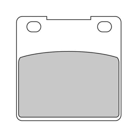 Тормозные колодки FDB338P для Kawasaki, Suzuki