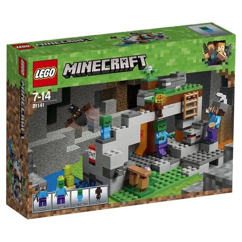 LEGO Minecraft: Пещера зомби 21141 — The Zombie Cave — Лего Майнкрафт