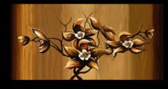 """Постер """"Четыре цветка"""""""