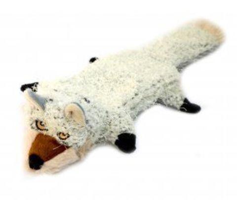 NEMS игрушка лиса белая с 2 пищалками