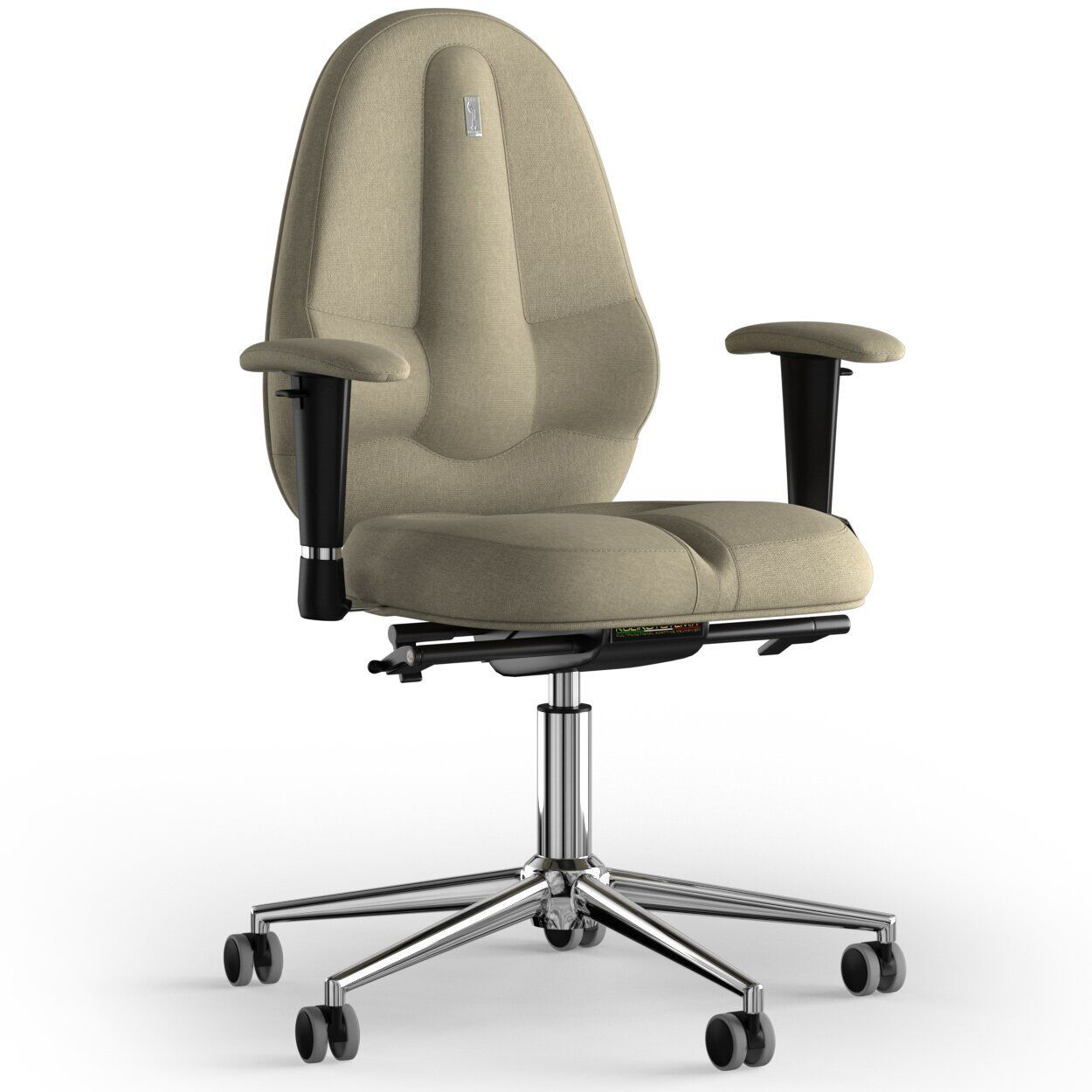Кресло KULIK SYSTEM CLASSIC Ткань без подголовника без строчки