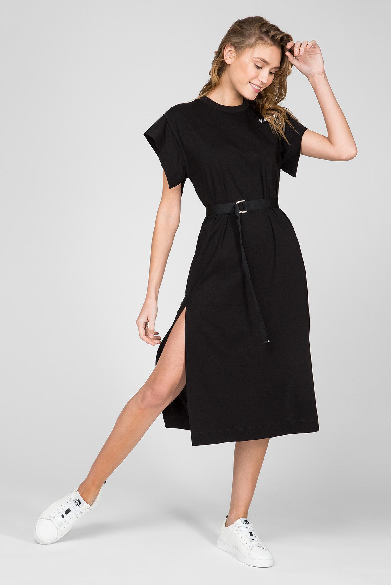 Женское черное платье D-FLIX-B Diesel