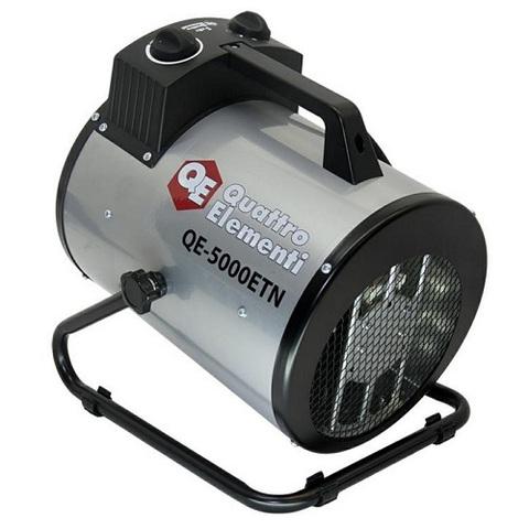 Нагреватель воздуха электрический QUATTRO ELEMENTI QE-5000 ETN  (2.5 / 5кВт, 220В, 500 м3/ (649-264)