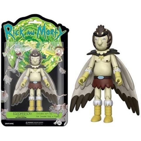 Рик и Морти фигурка Птичья личность 13 см. Собери Снежка