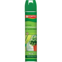 Аэрозоль Натуральное инсектицидное средство от летающих насекомых-вредителей 300мл Bona Forte
