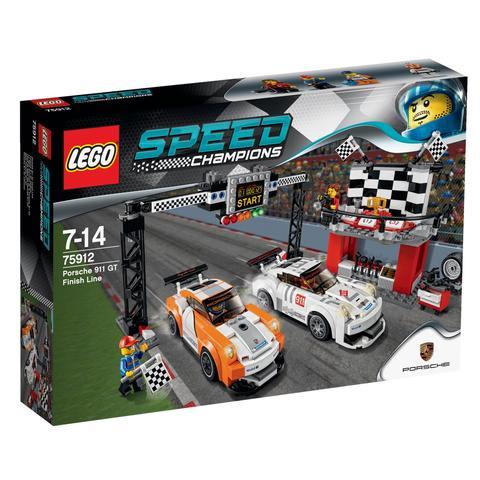 LEGO Speed Champions: Финишная линия гонки Porsche 911 GT 75912 — Porche 911gt Finish Line — Лего Спид Чампионы Чемпионы скорости