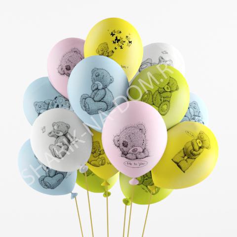"С рисунком Воздушные шары ""Me to You"" Me_To_You.jpg"