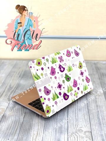 Накладка пластик MacBook Pro 13.3 Retina New /picture birds/ DDC