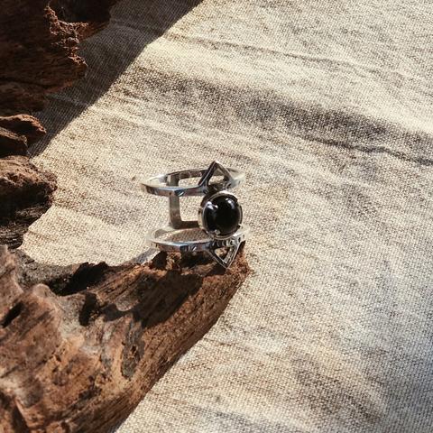 Кольцо ATHENA - Лунный камень
