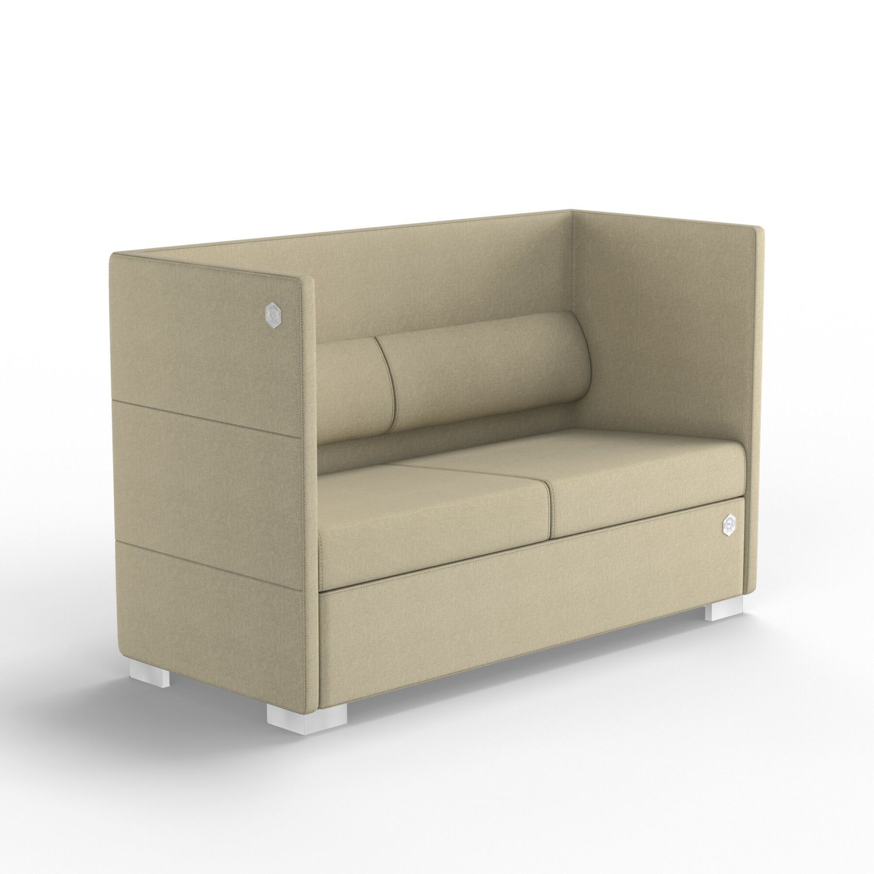 Двухместный диван KULIK SYSTEM CONFERENCE Ткань 2