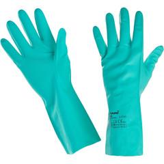 Перчатки Ампаро Риф 447513 из нитрила зеленые (размер 8, M)