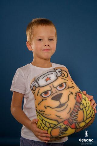 Подушка-игрушка «Медведь с балалайкой»-2
