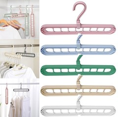 плечики вешалка для одежды органайзер Rotate anti-skid folding hanger