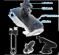 Беспроводная зарядка автомобильная penguin smart sensor s 5