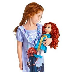 Brave Toddler Merida Doll 16''