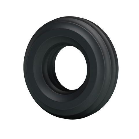 Чёрное широкое эрекционное кольцо - Baile BI-210174