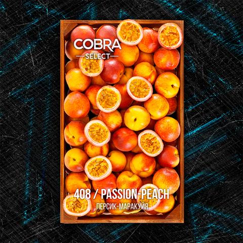 Табак Cobra SELECT Персик Маракуйя (Passion Peach) 40 г