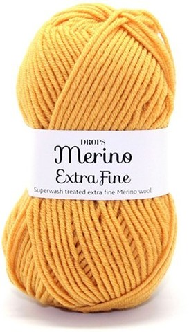 Пряжа Drops Merino Extra Fine 30 охра