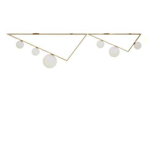 Потолочный светильник копия Triangle 2+1 by Atelier Areti
