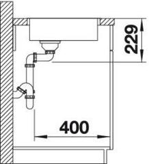 Мойка Blanco Andano 180-IF схема