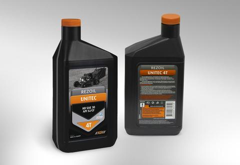 Моторное масло для четырехтактных двигателей Rezoil UNITEC 4T