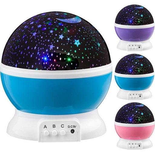 Товары для детей Вращающийся ночник проектор Звездное небо nochnik.jpg