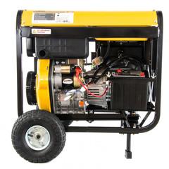 Генератор дизельный DD6300Е, 5.0 кВт, 220 В/50 Гц, 15 л, электростартер Denzel
