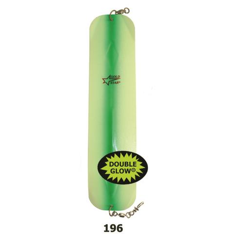 4991 004 196 Флешер Silver Hord F4 Piscator Glow/Green stripe