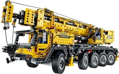 LEGO Technic: Передвижной кран MK II 42009 — Mobile Crane MK II — Лего Техник