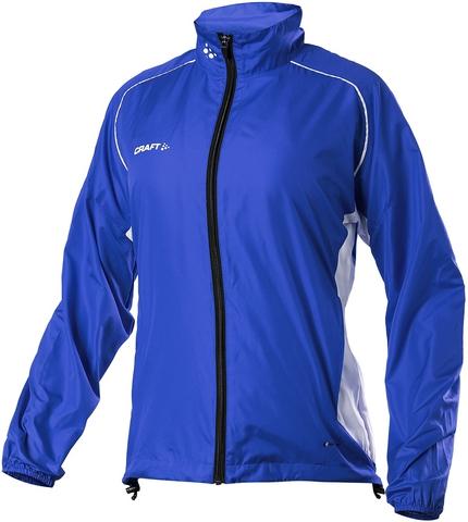 Куртка беговая Craft Track and Field Wind женская синяя