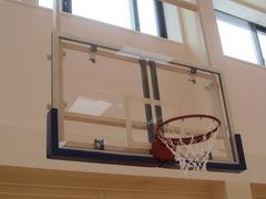 Щит баскетбольный игровой, поликарбонат 15мм 1800х1050мм, на металлической раме.