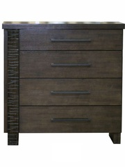 Комод Роберта Chest 3955-4CD (MK-2108-DW) — Dark Wenger (Венге)