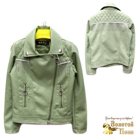 Куртка экокожа девочке (6-11) 200305-T1906.2