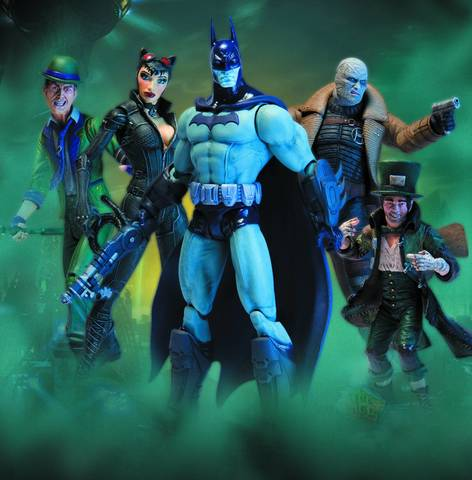 Batman Arkham City Action Figure Series 02 set