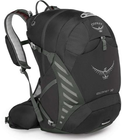 Картинка рюкзак велосипедный Osprey Escapist 32 Black