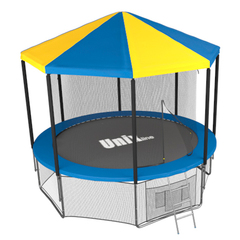 Батут Unix 12 ft inside (Blue) с крышей