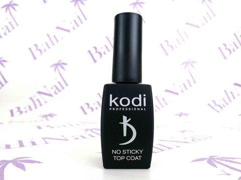 KODI, Верхнее покрытие без липкого слоя с кисточкой NO STICKY top coat, 12 мл