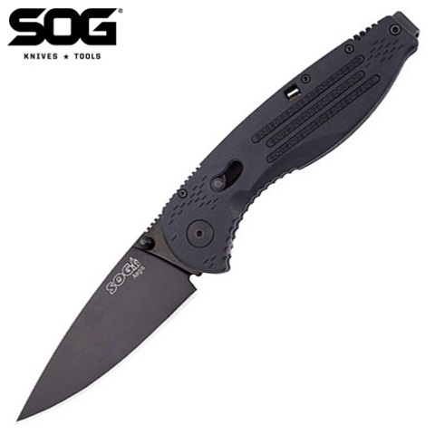 Нож SOG модель AE-02 Aegis Black Tini