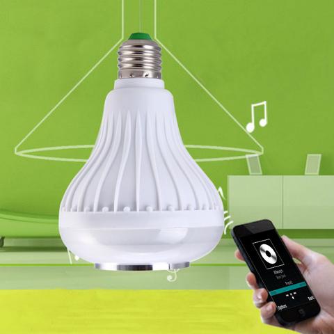 Красочная светодиодная лампа Bluetooth 3.0 с динамиком Music Bulb party ball
