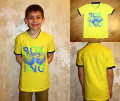 "Футболка ""Большая"" BOX Желтая"