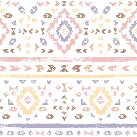 Индейский пастельный