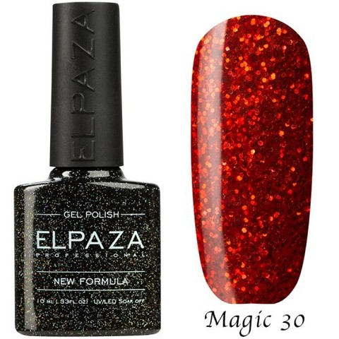 Гель лак Elpaza Magic,ВЕЗУВИЙ 30