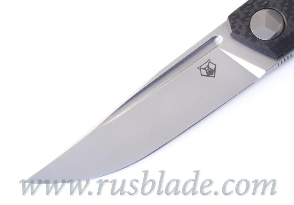 CUSTOM Shirogorov PERO knife Sinkevich design MRBS