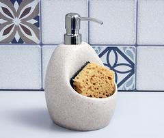 Дозатор для жидкого мыла WasserKRAFT K-8099 с емкостью для губки