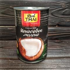 Кокосовое молоко REAL THAI 85% мякоти / 400 мл