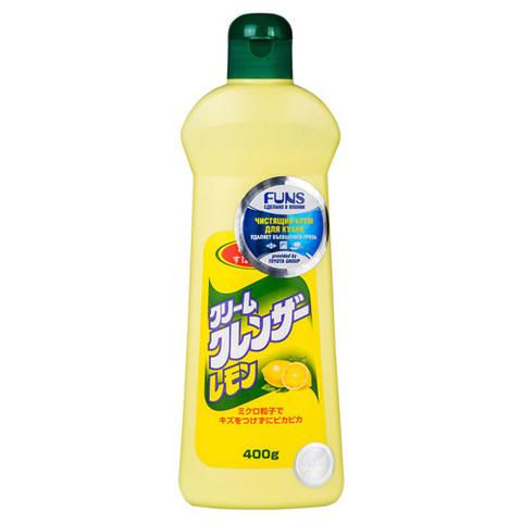 Чистящий крем для ванной комнаты и кухни с ароматом Лимона Daiichi 400 гр
