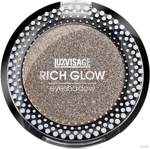 LuxVisage Тени компактные Rich Glow тон 09 moon light 2г
