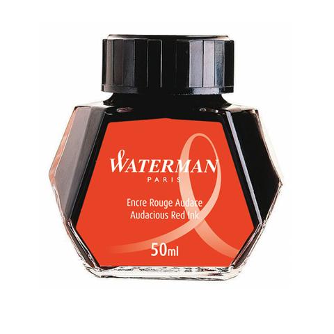 Waterman Чернила (флакон), красные